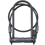 Lock Bontrager Elite U-Lock With 4' Cable Key 12mm x 9in